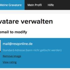 Gravatar – ein praktisches Tool für Benutzer-Avatare im Web